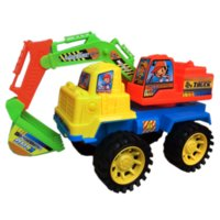 Wholesale New Toy Vehicles Inertia Engineering Excavator Cars Diecast Car Brinquedos Children s Toys Gifts