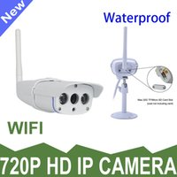 Wholesale Hot Onvif IP Camera Outdoor P Waterproof IP67 Network MP HD CCTV Security Camera Micro SD TF Card Slot