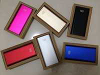 Wholesale original xiaomi power bank mAh external battery pack xiaomi MI external battery charger
