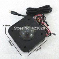 arcade for xbox - Arcade Game PS Connector cm Round LED Trackball mouse Illuminated trackball mouse mouse part