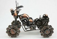 Wholesale Large Wrought Iron Four Beach Motorcycle Model Home Decoration Creative Crafts For Kid s Birthday Gift Novelty Metal Kid Toys