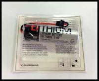 Wholesale 2pcs New Original For TOSHIBA ER17500V V PLC Lithium Battery Batteries With Black Plug