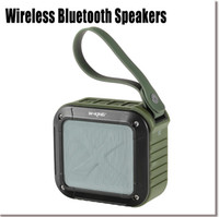 audio green plastic - Portable NFC Wireless Bluetooth Speaker with Hours Playtime for Outdoors Shower Army Green