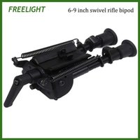 Wholesale 6 inch Harris bipod High Shockproof Swivel series tilting bipods with adjusting Pod locker Pivot Model Bipod