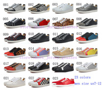 army printed fabric - 2014 new black white red genuine leather shoes leopard print spiked rivets flat low top red bottom shoes for men size