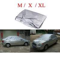 Wholesale Universal Waterproof Half Car Covers Styling Prevent PVC Snow Resistant Coating Breathable UV Protection Outdoor Indoor Shield