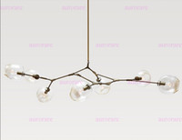 Wholesale Lindsey Adelman Chandeliers lighting modern lamp novelty pendant light natural tree branch suspension light hotel dinning room light fixture