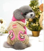 brand clothes cheap - New brand cheap dog costume Autumn and winter pet clothes stripes legs dog clothes pet clothes pet supplies from gardenhome shop