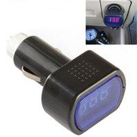 auto gauges electric - 30 Mini LED Digital Auto Car Battery Voltmeter Electric Vehicle Voltage Tester Volt Meter Gauge Monitor V V CEC_625