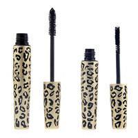 natural mascara - Alpha Love Apha Leopard Velvet Dense Lengthening Mascara Set New Arrival Transplanting Gel Natural Fiber Mascara Set