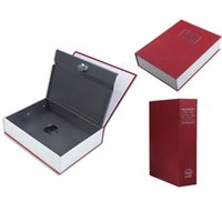 Cheap Red English Dictionary Book Cash Money Coin Safe Box Security Storage Case 18*11.6*5.5cm
