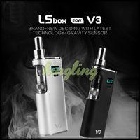 Cheap Authentic Greensound LSS V3 Kit e-cigarette box mod Vapor Mod LS BOX 20W V3 vape box mod Ecigarettes VV Mods Replacement Atomizers