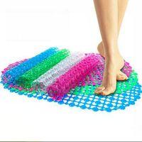 bathroom rubber mats - 2015 New Fashion rubber dot bath mats massage bath mat slip resistant pad bath mat bathroom suction cup LJJH172