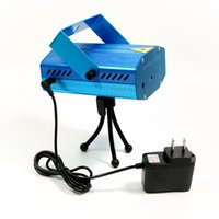 Wholesale Blue Mini Laser Stage Lighting MOQ mW Mini Green Red LED Laser DJ Party Stage Light Black Disco Dance Floor Lights Seven eleven