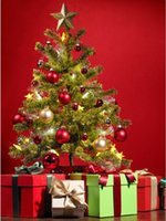 Wholesale 200cm cm ft ft New Year s Christmas tree vinyl photography background christmas