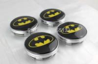 bat belt buckle - CAR STYLING mm Bat Logo Wheel Center Cover Hub Cap silver M44107 cap theme silver belt buckle ring