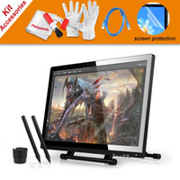 Wholesale Pens UGEE UG UG2150 Graphic Drawing Tablet quot IPS Monitor USB Dada Cable Scree Protector For Ugee and Huion GT