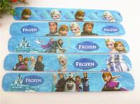 Wholesale 2014 hot Frozen Magic Ruler Slap Bracelets bangles Anna Else Olaf toys Children s Christmas Gift