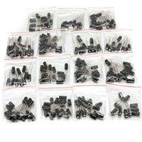 Wholesale 200 Value Electrolytic Capacitor Assortment Kit Assorted Set uF to uF