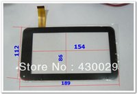 Wholesale 2pcs inch Replacement Screen Capacitive Touch Screen for inch VIA Tablet PC Digitizer