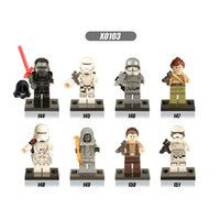 Wholesale Star Wars Toys Plastic Building Blocks for Kids Environment Friendly Materials Mini Figures Star Wars VII X0103