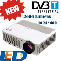 Wholesale DVBT inch x600 P D Video LCD Cinema Digital HDMI TV LED HD Projector For Home Theater Office Game