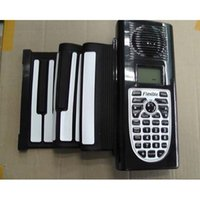 Wholesale F09727 Digital Electronic Flexible Portable Hand Roll Up Rolling Foldable Piano Tones Rhythms MIDI Keys