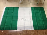 big federal - Hanging The Federal Republic of Nigeria National Flag banners custom printed fabric big party flag cmx150cm ftx5ft
