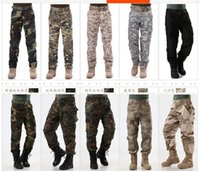 acu digital pants - Military camouflage desert pants overalls CP Digital ACU Army fans for training pants