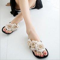 Wholesale Flowers Casual Women s Sandals New Summer Women s Slippers Fashion Flat Women s Shoes Flip Flops Platform Sapatos Feminino