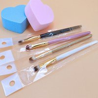 angled shadow brush - PC Super Soft Professional pincel maquiagemMakeup Eyebrow Brush Eyeshadow Blending Angled makeup brushes Comestic Make up Tool