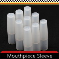 Electronic Cigarette plastic test tubes - plastic drip tips mouthpiece disposable test silicone drip tip taster green and healthy new soft tube For e cigarette e cig Test Cap