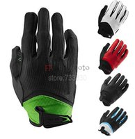 bg cycling gloves - New BG Gel Long Finger Wiretap Gloves Touch Screen compatible Bicycle Gloves Motocross Racing Cycling Gloves