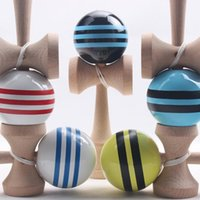 Educational Supplies - bulk price real tribute Professional supply of high quality skills ball Kendama PU draw the line educational gamel