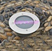 Al por mayor (WECUS) envío libre, lámpara de calle solar, LED de aluminio Enterrado luces solares de acero inoxidable, IP65