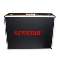 Wholesale SJWstar Aluminum Suitcase WTG or UHF or WTG Receiver or transmitter suitcase loaded suitcase Dedicated tour guide system