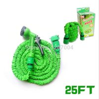 Wholesale 4 Expandable Flexible Plastic Hose Water Garden Pipe With Spray Nozzle For Car Wash FT