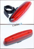 Wholesale New and high quality Bicycle Bike Cycle LEDs Red Rear Tail Back Light Lamp Modes Universal Fit