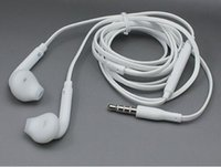 S6edge headphone beats by dre - High Quality White EG920 In Ear HIFI Mobile mm Headphone With Mic Remote Control For Samsung S6 S6edge Cell Phone Music Player DHL
