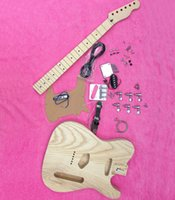 Wholesale Fdr TELE guitar body neck electric guitar kit manual customized Beyond band Paul wong with model
