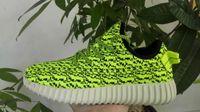 Precio de Designer brand name men shoes-Kanye West 350 zapatos del diseñador de moda de los hombres de los zapatos corrientes Marca Sports para el hombre con la caja