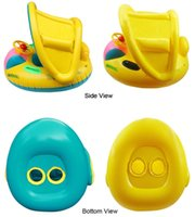 baby float canopy - Inflatable Toddler Baby Swim Ring Float Seat Swimming Pool Seat with Canopy fall baby love sport