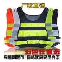 Wholesale 2015 New arrival hot sale reflective safety vest coat Sanitation vest Traffic safety warning clothing vest waiting you