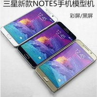 Wholesale New arrival Note Non Working Size Display model Dummy phone fake Phones Model non working note5