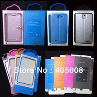 Wholesale Retail Packaging Package Paper Box for iphone box Gift box galaxy note S4 S3 Mobile Case DHL