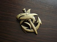 metal badges military - ww2 wwii COMBAT DIVER SHARK military BADGE