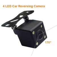 Wholesale New CCD Universal LED Car Rear View HD Reversing Camera Car parking Backup Camera Degree Wide Angle DC12V