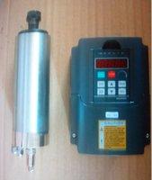 Wholesale WATER COOLED MM KW V ER11 COLLET CNC SPINDLE MOTOR MATCHING INVERTER VFD