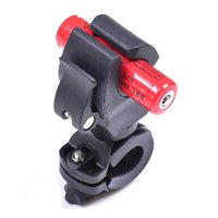 bicycle lock holder - Cycling Bicycle Bike Mount Holder for Flashlight Torch Clip Clamp degree Rotation