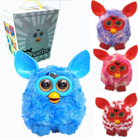 Wholesale 2015 Electronic Toys Firby Color Electric Pets Owl Elves Plush toys Recording Talking Toys Furbiness boom By EMS